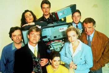 "35. ""Dead Belgians Don't Count"" was the original title for which 1990's comedy?  Drop The Dead Donkey"