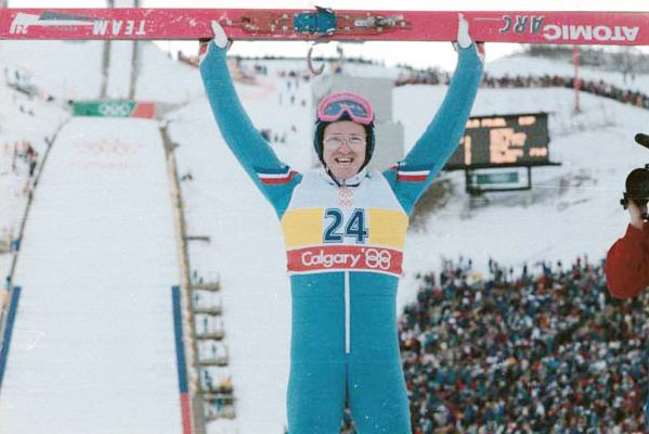 25. Which city was the venue for the Winter Olympics where Eddie the Eagle became famous for being a rubbish ski jumper?  Calgary (1988)
