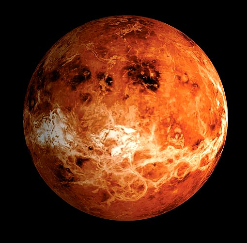 6. Which planet is bigger, the Earth or Venus? Earth (just, it's 5% larger)