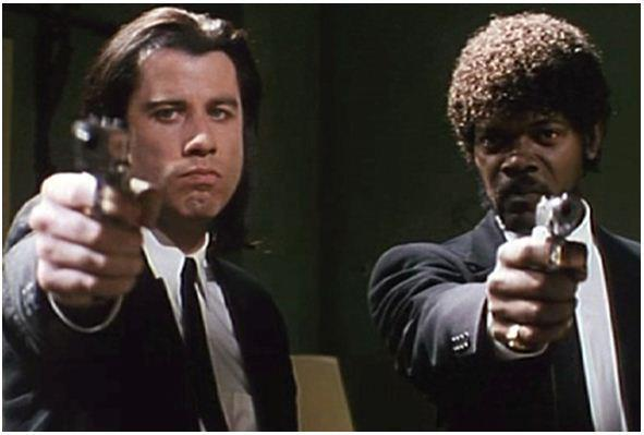 40. What was the name of John Travolta's character in 'Pulp Fiction'? Vincent Vega