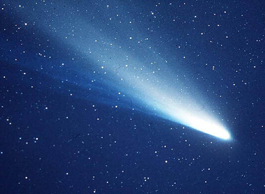 10. Which regular astronomical sight was first recorded by the chinese in 240BC, made an appearance during the 1066 Norman invasion, most recently showed up in 1986 and will not appear again until 2061? Halley's comet