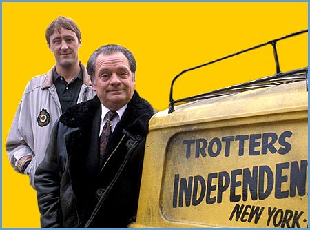 34. According to words in the theme song of Only Fools and Horses, what is it that only fools and horses actually do? Work
