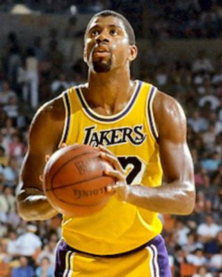 26. What was the nickname of basketball star Earvin Johnson Jnr.? 'Magic' Johnson