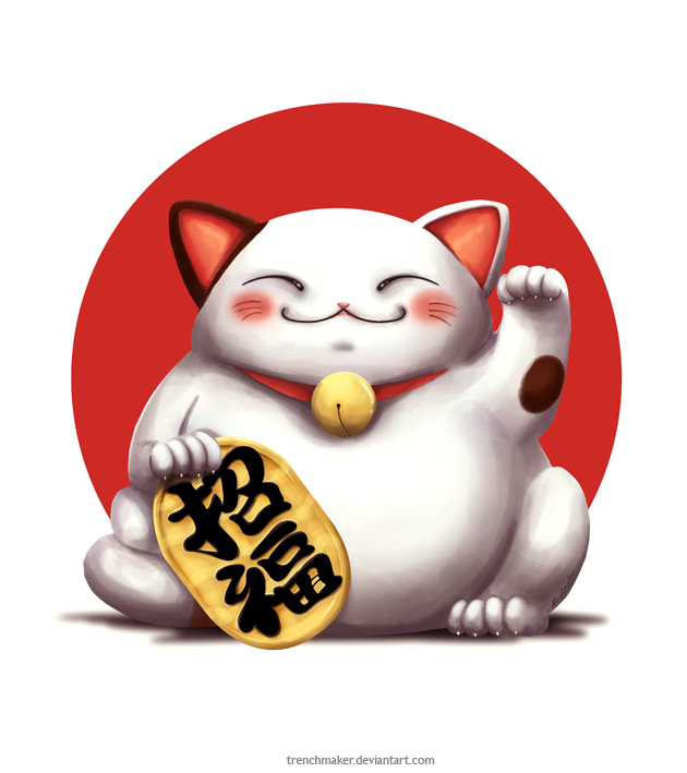 10. Originating in Japan and used to ward off bad luck, what is a Maneki Neko? Waving cat statue, beckoning cat or lucky cat would do!
