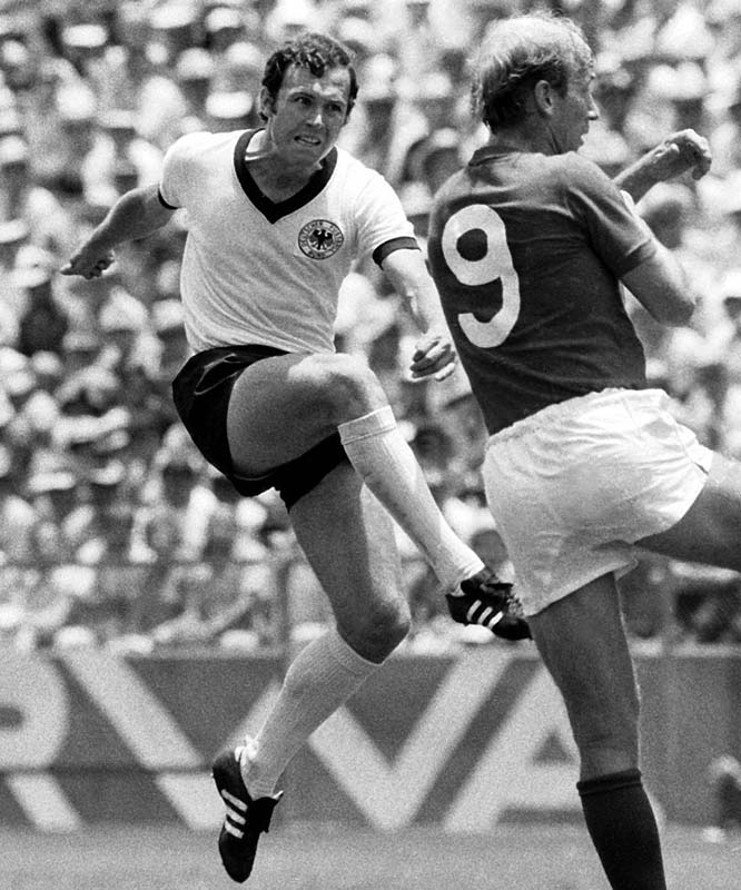 30. Who is the only footballer to both captain and manage a World Cup winning team? Franz Beckenbauer