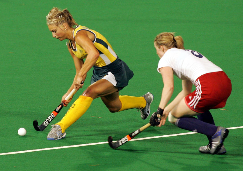 22. In which 11-a-side Olympic sport do players take long corners and short corners? Field Hockey