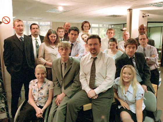 36. What English town is the setting for the original British version of TV sitcom The Office? Slough