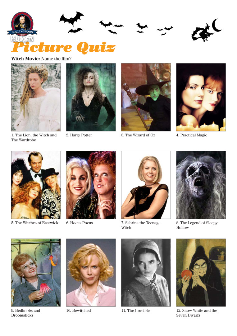 There's not that many witches in films you know!