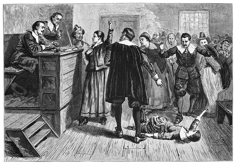 7.In which state in America is Salem where in 1692 hundreds of people were accused of witchcraft? Massachusetts