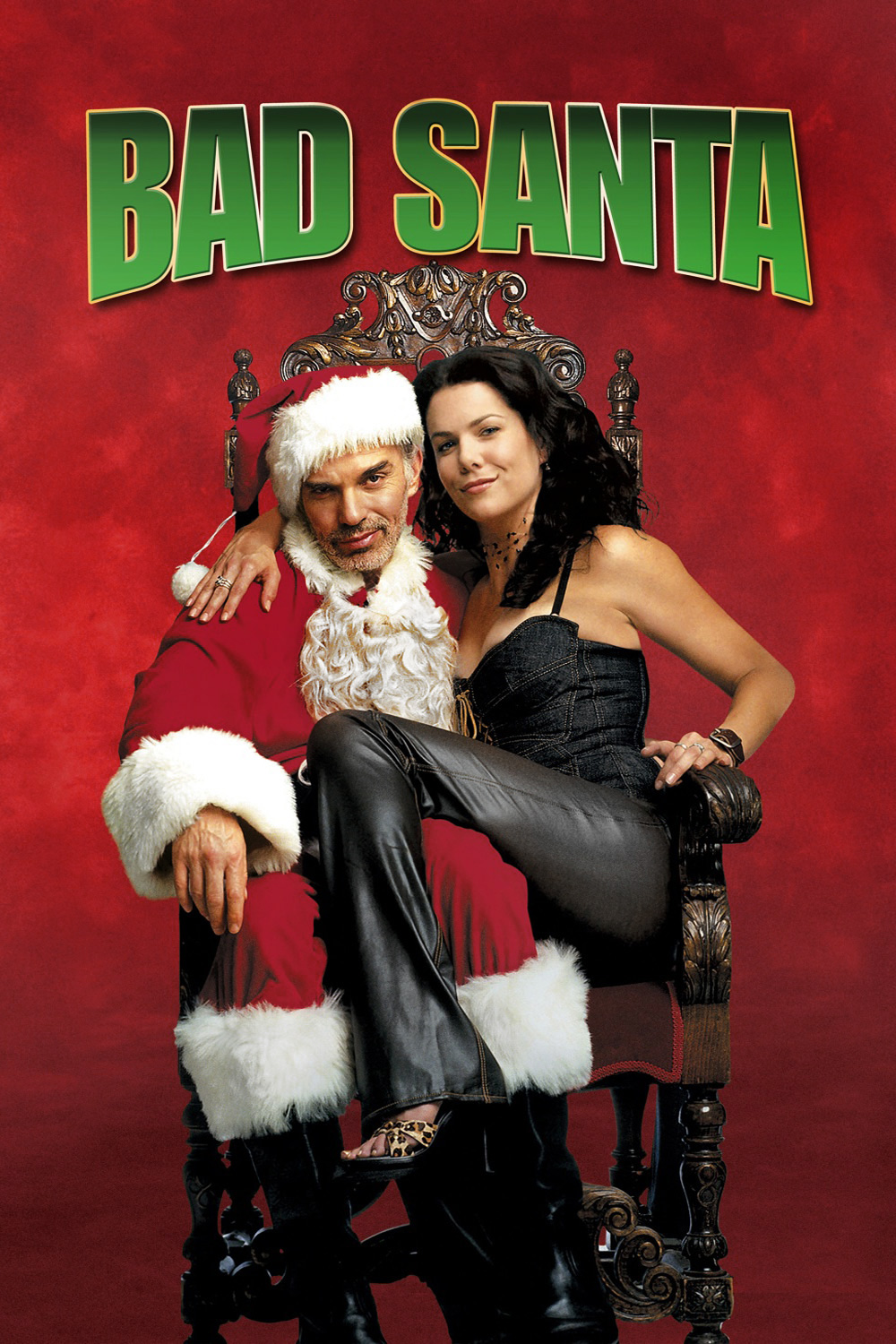 40. Who played Bad Santa in the 2003 film Bad Santa? Billy Bob Thornton