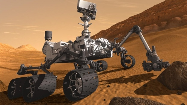 4. What is the name of the Mars Science Laboratory's robotic rover, which  successfully landed on Mars on 6 August? Curiosity