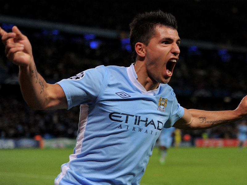 21. Who scored Manchester City's last-minute goal against Queens Park Rangers in May to win the club their first Premier League title? Sergio Aguero