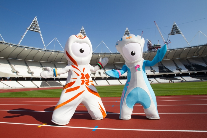 "30. The 2012 Olympic Games' mascots Wenlock and Mandeville were described by a Canadian newspaper as a product of a ""drunken one-night stand between a Teletubby and"" what other TV character? Dalek"