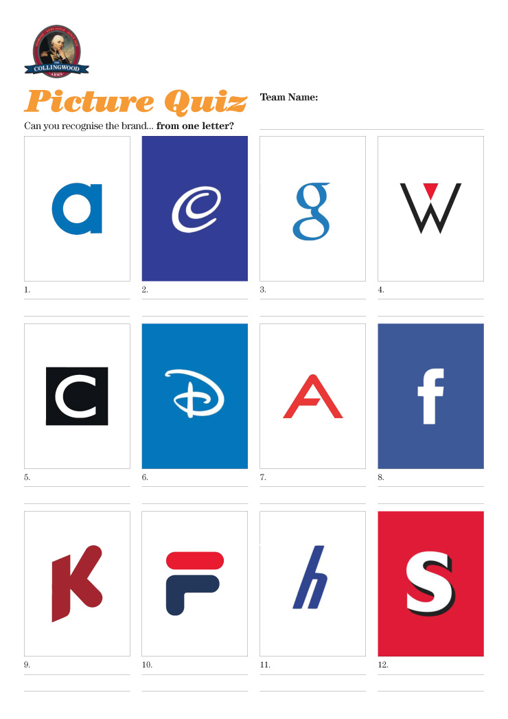 Can you recognise the company from just one letter of it's logo?