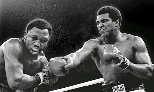 29. What was the nickname given to the famous boxing match between Mohammad Ali and Joe Frazier in1975? Thrilla in Manila