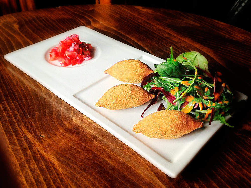 Empanadas with a variety of fillings, only £3.25