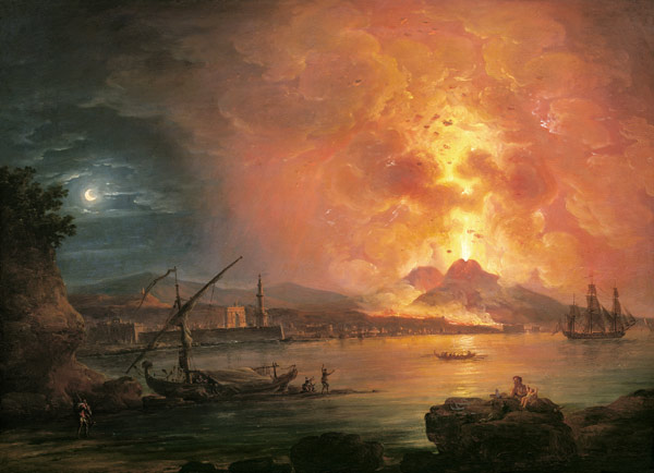 1. What was the name of the volcano which destroyed Pompeii in AD79? Vesuvius