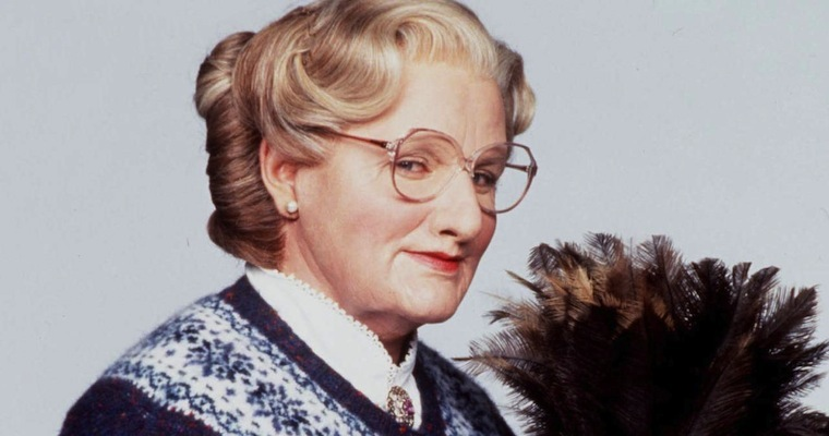 32. Which comedian starred in the 1993 film Mrs Doubtfire? Robin Williams