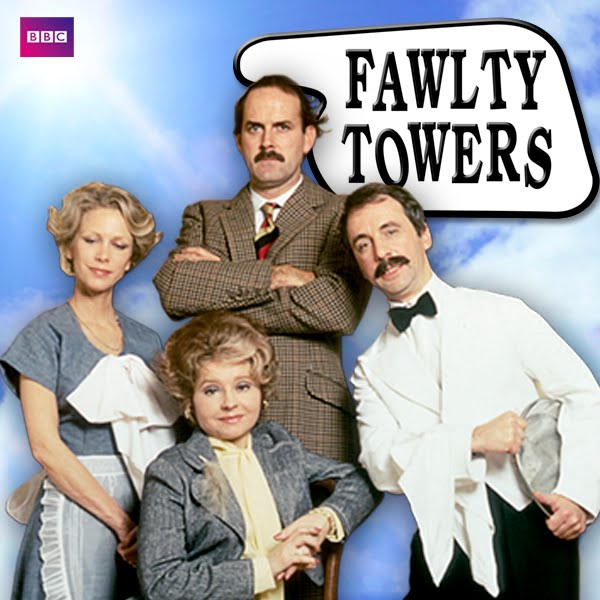 36. Who co-wrote Fawlty Towers with John Cleese? Connie Booth