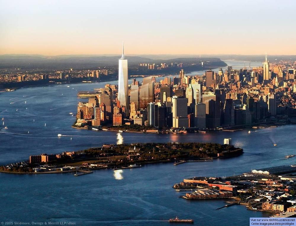 2. Which river mouth forms New York City Harbour? The Hudson