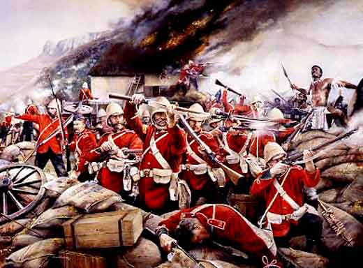 9. The defence of Rorke's Drift occured during which war in 1879? Anglo-Zulu War