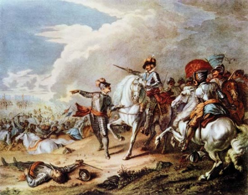 10. Which war began with the raising of the Royal Standard at Nottingham in 1642? The English Civil War