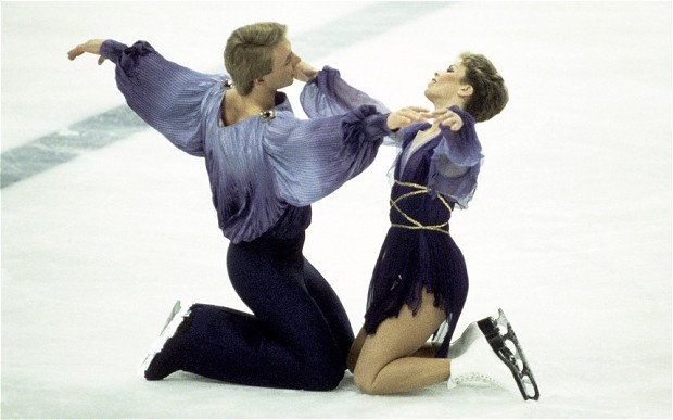 26. Which British ice dancers who won gold medals at the 1984 Winter Olympics were famous for their Bolero routine?Torville and Dean