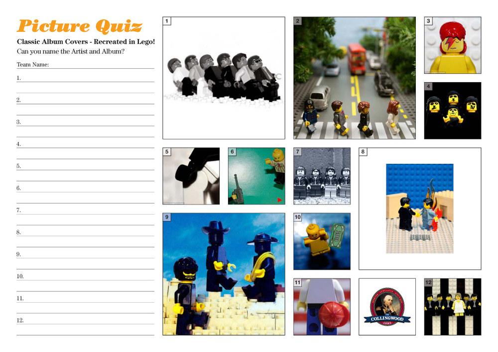 Lego recreate classic album covers... aren't they great!