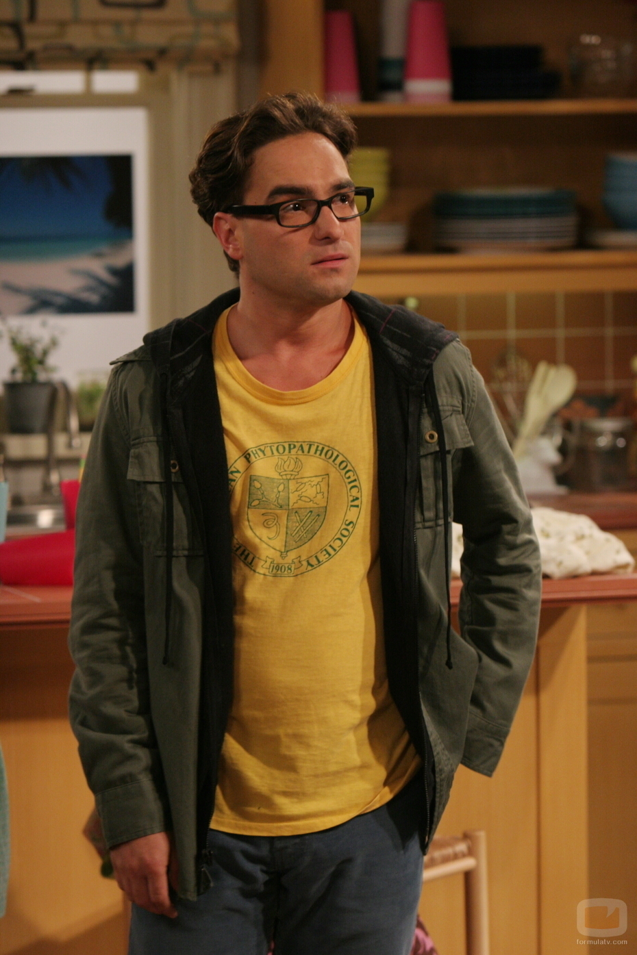 39. In the Big Bang Theory what's Leonard's middle name? Leonard Leakey Hofstader