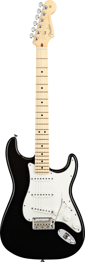 19. What did Fender name the follow up to their Telecaster guitar with the intention of evoking the new age of jet aircraft and space-age? The Stratocaster (click to watch the You Tube video, it's brilliant!)
