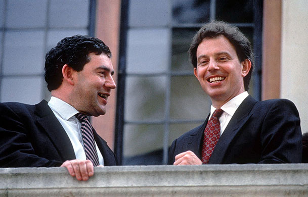 10. Which two politicians had a famous meeting at 127 Upper Street, North London in 1994? This was Tony Blair and Gordon Brown's infamous Granita restaurant meeting. The pair supposedly made a pact where Brown agreed not to contest Blair for vacant leadership of the Labour Party as long as Brown got the leadership at a later date.