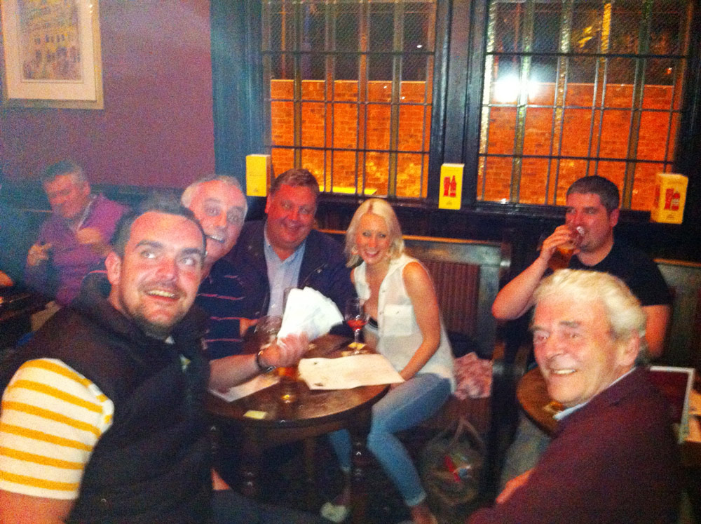 Winners of Quiz 69 It's A Cock Out with there massive £267 Cash Prize