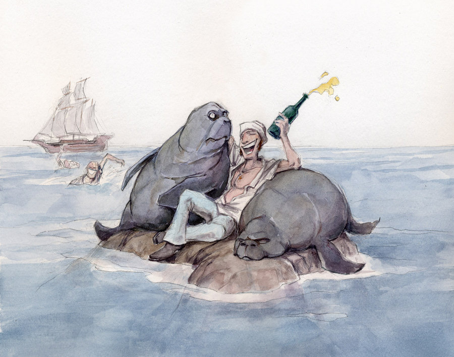 5. Christopher Columbus, along with many sailors of the time mistook which sea mammals to be mermaids? Mantees
