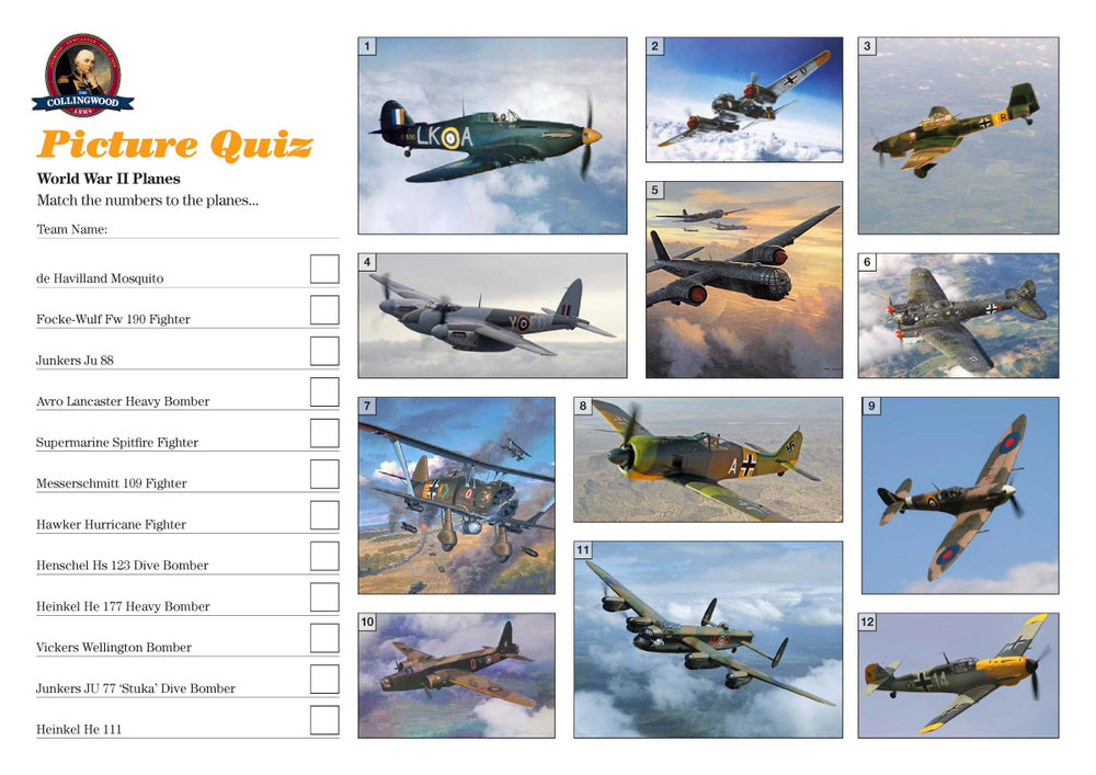 Those Fockers were Messerschmitts man... do you know your WWII Planes?