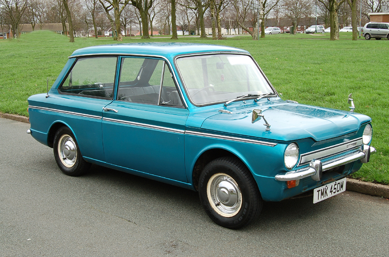 10. What car, designed to rival the Mini, first rolled off the production line at Linwood, Scotland in May 1963 but ceased production in 1976 due to strikes and poor sales? The Hillman Imp