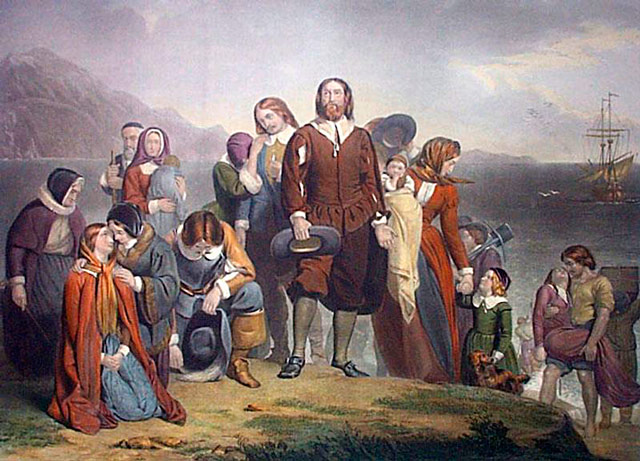 9. What name was given to the settlers who established the first permanent colony in New England in 1620? The Pilgrim Fathers