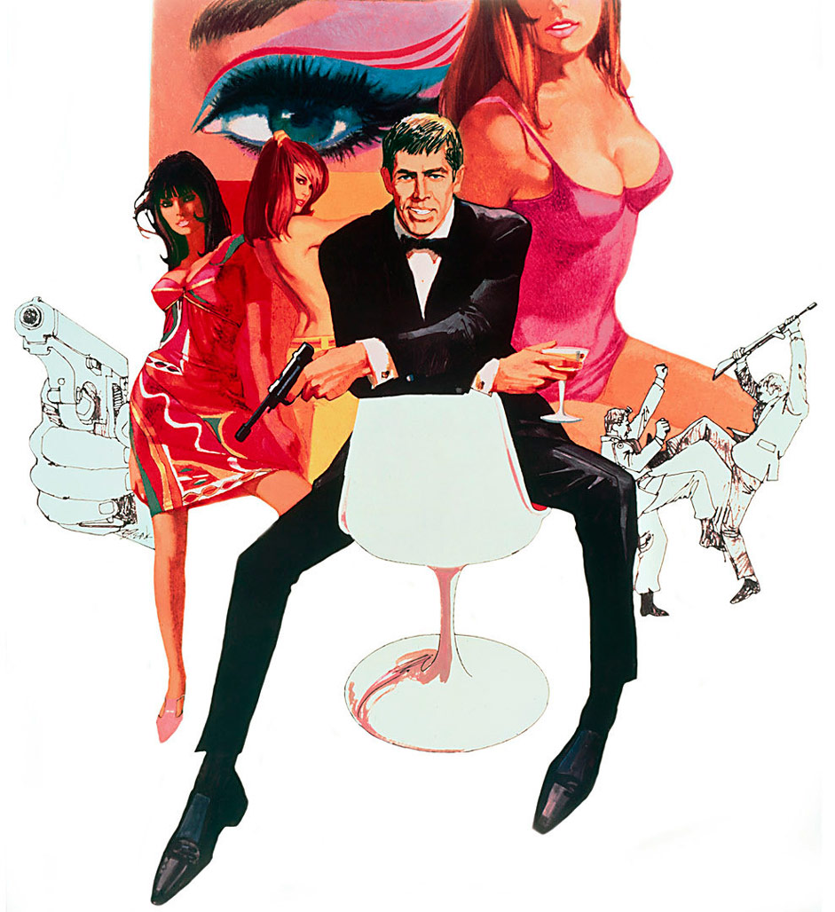37. Who played Our Man Flint in a series of spy films? James Coburn