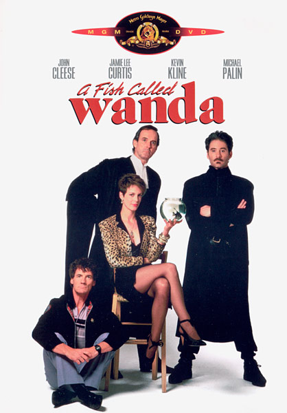 38. A tale of murder, lust, greed, revenge and seafood is the tagline from which 1988 classic comedy? A Fish Called Wanda