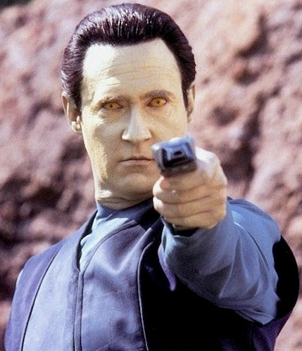 Q31 In Star Trek - The Next Generation, what was the name of the android Lieutenant on board the the Enterprise-D? Data