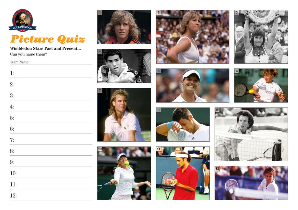 How well do you know the past and present heroes of Wimbledon?