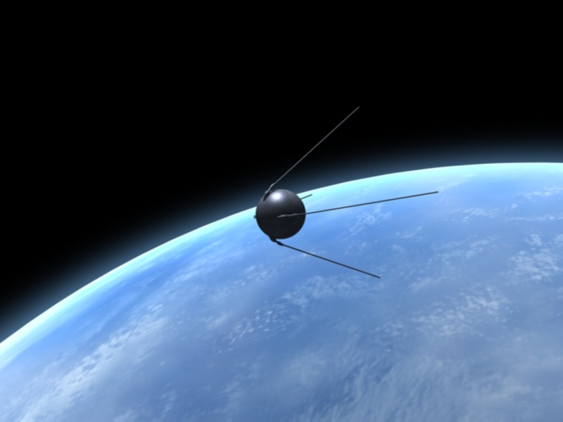 Q8 The first ever artificial satellite was launched in 1957 by the Soviet Union. What was its name? Sputnik 1
