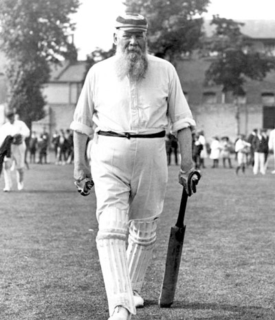 Q28 At what other sport cricketer W G Grace captain England? Lawn Bowls