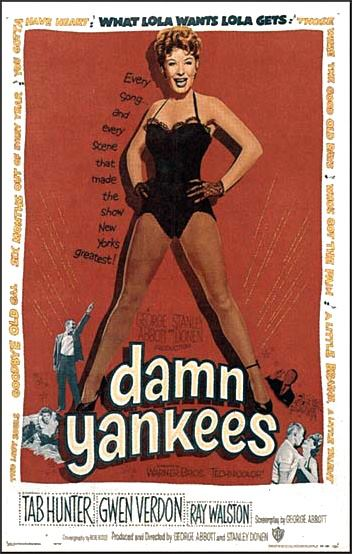 Q28 What sport featured in the 1958 film Damn Yankees? Baseball