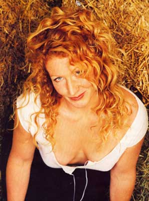 Q34 What's the name of the braless redhead who co-presented the BBCs garden makeover television series Ground Force? Charlie Dimmock