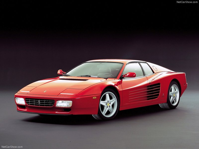 Q9 What car manufacturer makes the 512 TR? Ferrari (Testarossa)