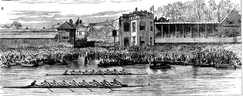 Q30 What happened in the 1877 University Boat Race that had never happened before and hasn't happened since? The race was a dead heat
