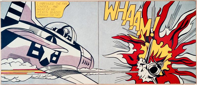 Q7 With which visual art movement is Roy Lichtenstein associated? Pop Art