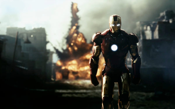 Q36 What is the name of the industrialist who in the 2008 film becomes Iron Man? Tony Stark