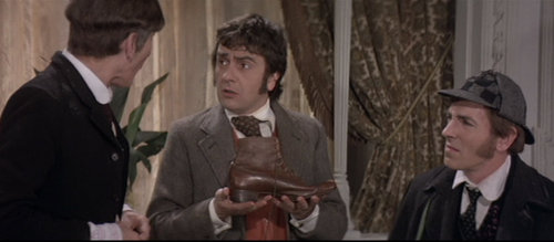 Q35 Which (comedy) duo starred as Holmes and Watson in the 1978 version of The Hound of the Baskervilles? Peter Cook & Dudley Moore