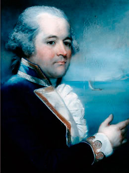 Q2 Which famous sea captain who commanded HMS Bounty died in 1817? Captain (William) Bligh